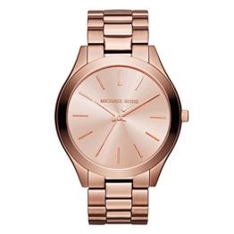 Michael Kors Damen Analog Quarz Uhr mit Edelstahl Armband MK3205_0 - 1