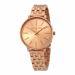 Michael Kors Damen Analog Quarz Uhr mit Edelstahl Armband MK3897 - 1