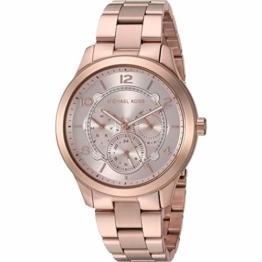 Michael Kors Damen Analog Quarz Uhr mit Edelstahl Armband MK6589 - 1