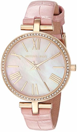 Michael Kors Damen Analog Quarz Uhr mit Leder Armband MK2790 - 1