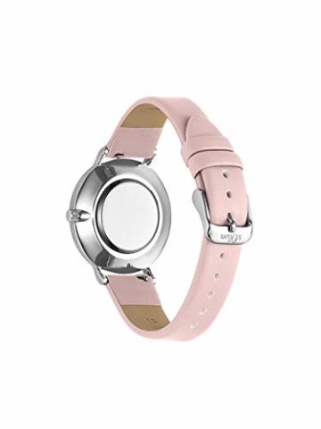 s.Oliver Damen Analog Quarz Uhr mit Leder Armband SO-3748-LQ - 5