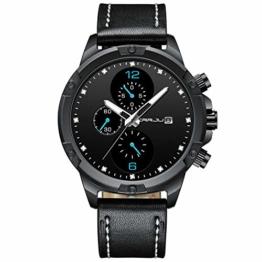 Armbanduhren Sechs Pin Sportuhr Für Herren Blau - 1