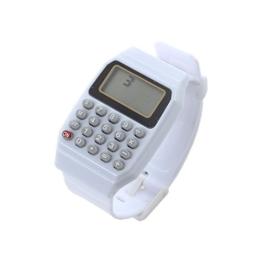 Beauneo Kunststoff Armband Mode Uhr Kinder Mehrzweck elektronische Taschenrechner Armbanduhr - 1