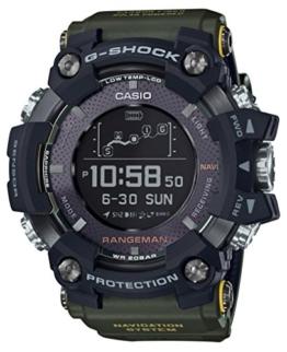 Casio G-Shock RANGEMAN GPS-Navigationssystem GPR-B1000-1BJR für Herren, hergestellt in Japan (Japan Import) - 1