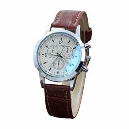 DECTN Armbanduhr Gürtel SportQuarz Stunde ArmbanduhranalogUhren männer UhrmännlichFreizeit militär Armbanduhr Uhren, a - 1