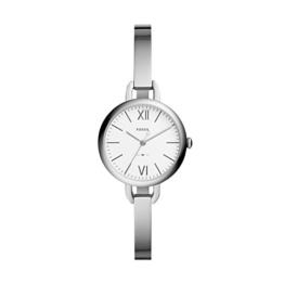 Fossil Damen Analog Quarz Smart Watch Armbanduhr mit Edelstahl Armband ES4390 - 1