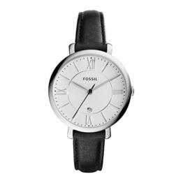 FOSSIL Jacqueline - Uhr mit schwarzem Lederband - ES3972IE - 1