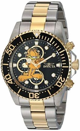 Invicta Herren-Armbanduhr Character Collection Edelstahl zweifarbig 22 (Modell: 27420 - 1
