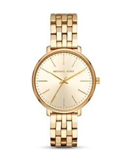 Michael Kors Damen Analog Quarz Uhr mit Edelstahl Armband MK3898 - 1