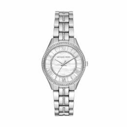 Michael Kors Damen Analog Quarz Uhr mit Edelstahl Armband MK3900 - 1