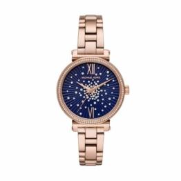 Michael Kors Damen Analog Quarz Uhr mit Edelstahl Armband MK3971 - 1