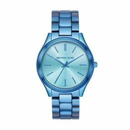 Michael Kors Damen Analog Quarz Uhr mit Edelstahl Armband MK4390 - 1