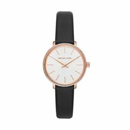 Michael Kors Damen Analog Quarz Uhr mit Leder Armband MK2835 - 1