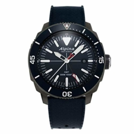 Alpina Geneve Seastrong Quartz GMT AL-247LNN4TV6 Herrenarmbanduhr - 1
