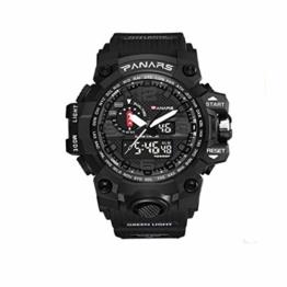 Herren-Digitaluhr Fashion LED Military Sport Wasserdicht Casual Armbanduhr - 1