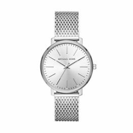 Michael Kors Damen Analog Quarz Uhr mit Edelstahl Armband MK4338 - 1