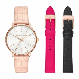 Michael Kors Damen Analog Quarz Uhr mit Leder Armband MK2775 - 1