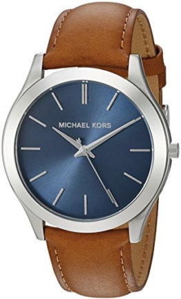 Michael Kors Men's Slim Runway Brown Watch MK8508 - 1