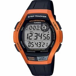 CASIO Herren Digital Quarz Uhr mit Harz Armband WS-2000H-4AVEF - 1