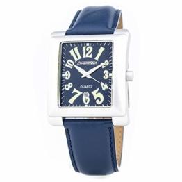 Chronotech Herren Analog Quarz Uhr mit Leder Armband CT7358-53 - 1