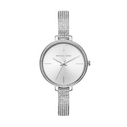 Michael Kors Damen Analog Quarz Uhr mit Edelstahl Armband MK3783 - 1
