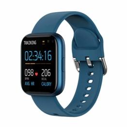 Smartwatch Eurofest Armband Silikon Blau FW0111/C - 1