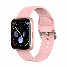 Smartwatch Eurofest Armband Silikon Rosa FW0111/M - 1