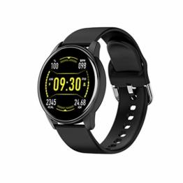 Smartwatch Eurofest Armband Silikon Schwarz FW0113/E - 1