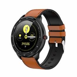 Smartwatch Eurofest Lederband Braun FW0109PK - 1