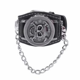 SovelyBoFan Herren Uhr Armband Uhr Designer Skelett Uhr - 1