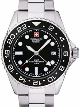 Swiss Alpine Military 7052.1137 Diver 42mm 10ATM - 1