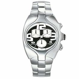 TIME FORCE Analog Quarz Uhr mit Gummi Armband TF2640M-04-1 - 1