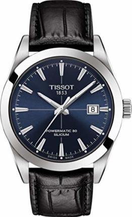 Tissot Herren-Uhren Analog Automatik One Size 87990621 - 1