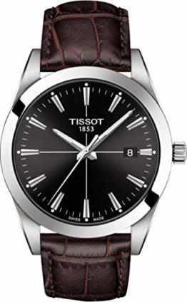 Tissot Herren-Uhren Analog Automatik One Size 87990672 - 1