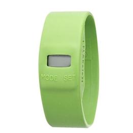 Too Late–tl0203–Armbanduhr–Quarz Digital–Zifferblatt Grün Armband Silikon Grün - 1