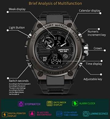 findtime - -Armbanduhr- WY739black - 7