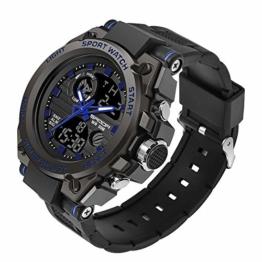 findtime - -Armbanduhr- WY739black blue - 1