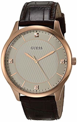 Guess Herren Analog Quartz Uhr GW0070G1 - 1