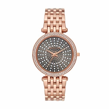 Michael Kors Damen Analog Quarz Uhr mit Edelstahl Armband MK4408 - 1