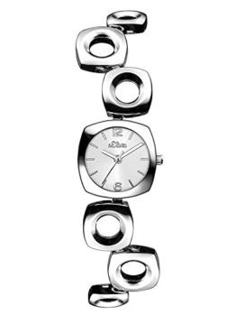s.Oliver Damen-Armbanduhr Analog Quarz SO-3005-MQ - 1