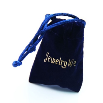 JewelryWe Herren Damen Taschenuhr Classic Glänzend Kettenuhr Analog Quarz Uhr mit Halskette Kette Umhängeuhr Pocket Watch Geschenk Gold - 3
